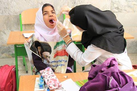 ارائه خدمات دندانپزشکی رایگان به دانش آموزان مدرسه استثنایی بجنورد